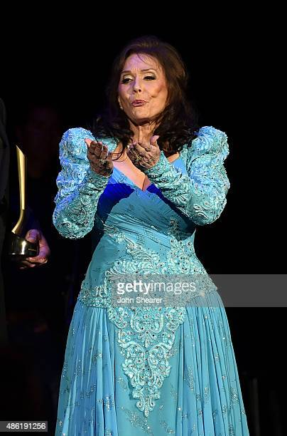Loretta Lynn onstage during the 9th Annual ACM Honors at the Ryman Auditorium on September 1 2015 in Nashville Tennessee