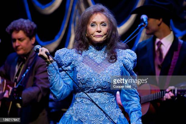 Loretta Lynn performs at ACL Live on February 17 2012 in Austin Texas