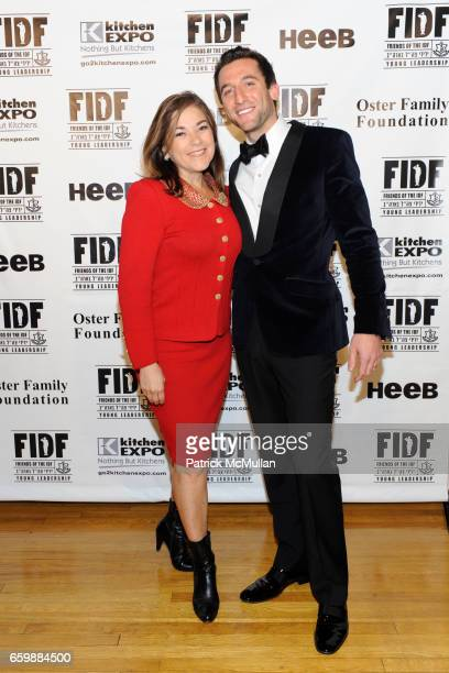 Loretta Sanchez and Jeremy Abelson attend FIDF CASINO NIGHT 2009 at The Metropolitan Pavilion on December 5 2009 in New York City
