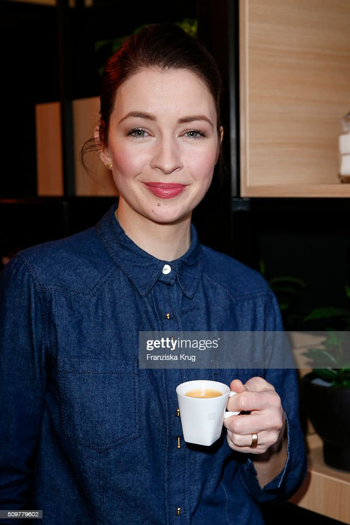 <a gi-track='captionPersonalityLinkClicked' href=/galleries/search?phrase=Loretta+Stern&family=editorial&specificpeople=636186 ng-click='$event.stopPropagation()'>Loretta Stern</a> attends the Nespresso 'Auf einen Kaffee mit...' on February 12, 2016 in Berlin, Germany.