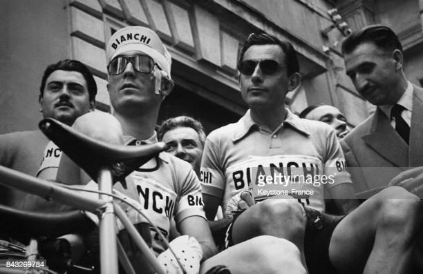 Loretto Petrucci et Fausto Coppi