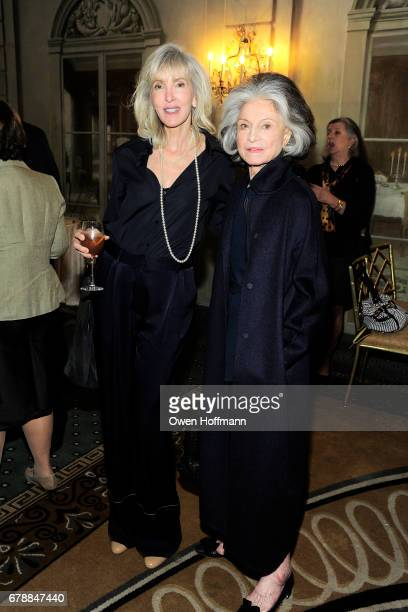 Lori Cuisinier and Deeda Blair attend Fountain House Symposium and Luncheon at The Pierre Hotel on May 1 2017 in New York City