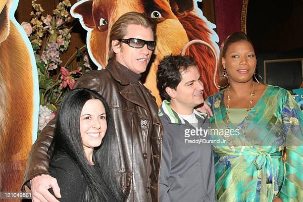 Lori Forte Denis Leary director Carlos Saldanha and Queen Latifah