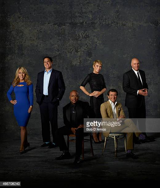 TANK Lori Greiner Mark Cuban Daymond John Barbara Corcoran Robert Herjavec and Kevin O'Leary is a 'Shark' on ABC's 'Shark Tank'