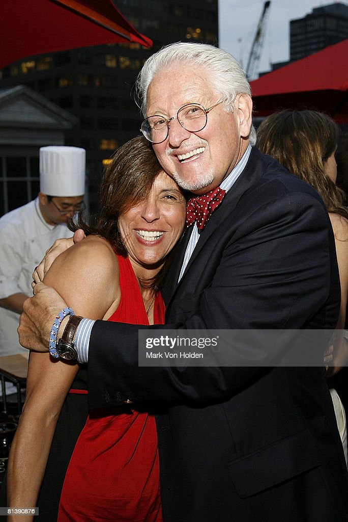 NYC Lori Levin And CEO Of HBA Design Michael Bedner Attend The Interior Party At