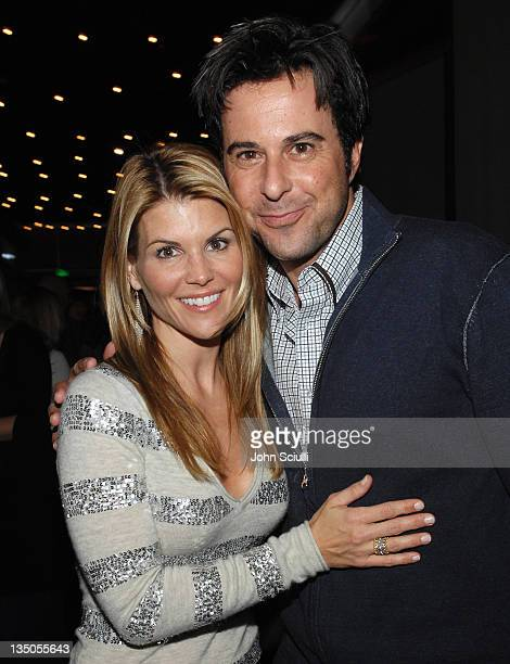 Lori Loughlin and Jonathan Silverman during 'In Case Of Emergency' Wrap Party Hosted by Kahlúa at Napa Valley Grill in Westwood California United...