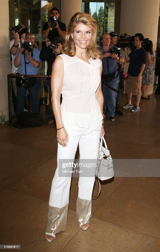 Lori Loughlin arrives at the Television Critic Association's Summer press tour - Hallmark Channel & Hallmark Movie Channel event held at The Beverly Hilton Hotel on July 24, 2013 in Beverly Hills, California.