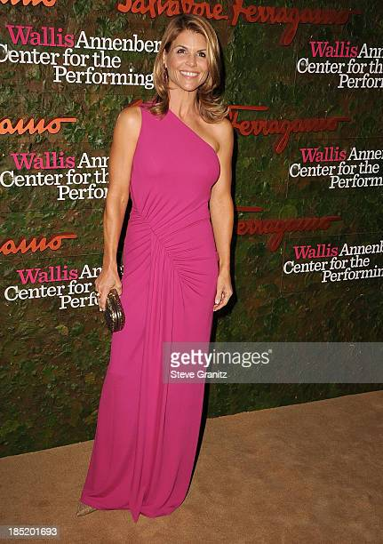 Lori Loughlin arrives at the Wallis Annenberg Center For The Performing Arts Inaugural Gala at Wallis Annenberg Center for the Performing Arts on...
