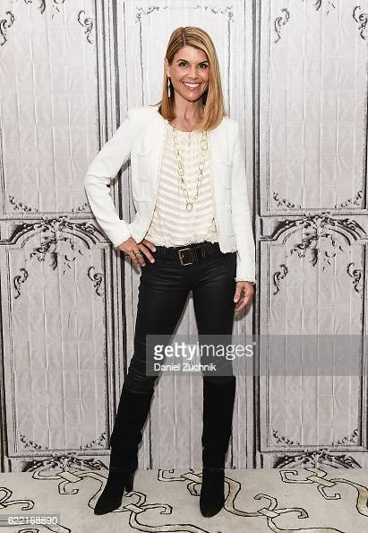 Lori Loughlin attends AOL Build to discuss the film 'Every Christmas Has A Story' at AOL HQ on November 10 2016 in New York City