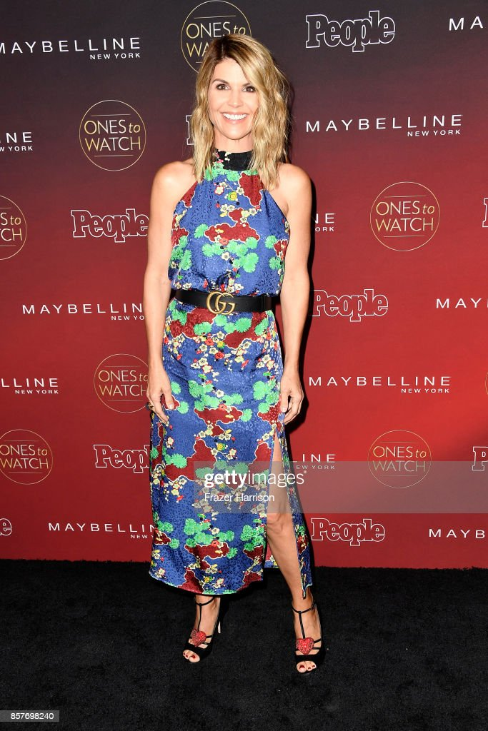 Lori Loughlin attends People's 'Ones To Watch' at NeueHouse Hollywood on October 4, 2017 in Los Angeles, California.