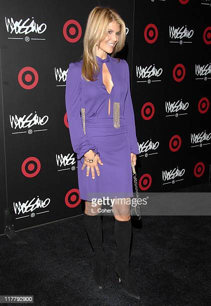 Lori Loughlin during Target Hosts LA Fashion Week Party for Designer Mossimo Giannulli at Area in Los Angeles California United States