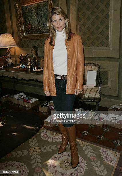 Lori Loughlin during Third Annual Bag Lunch Benefiting PS Arts at Private House in Beverly Hills California United States