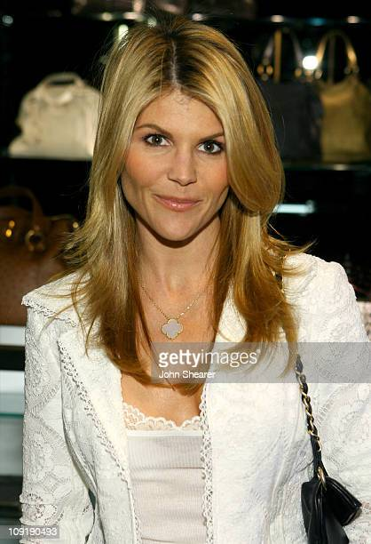 Lori Loughlin during Yves Saint Laurent 'Downtown' Event April 18 2007 at Yves Saint Laurent Store in Beverly Hills California United States