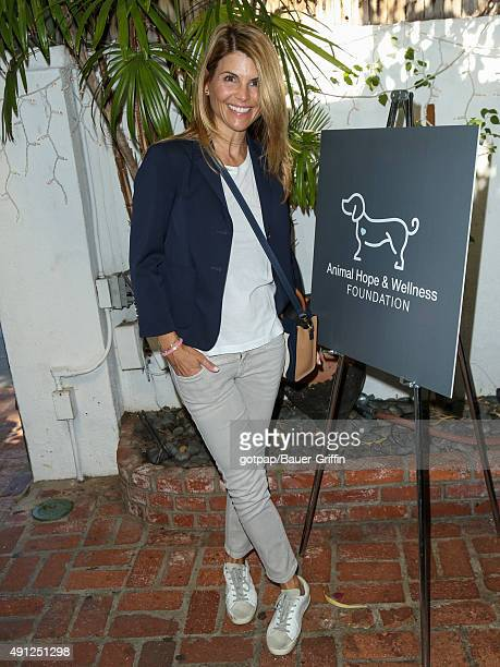 Lori Loughlin is seen attending The Fluffball 2015 on October 03 2015 in Los Angeles California