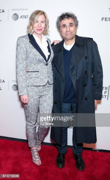 Lori Majewski and Steve Leeds attend the premiere of 'Dare to be Different' during the 2017 Tribeca Film Festival at Spring Studios on April 27 2017...