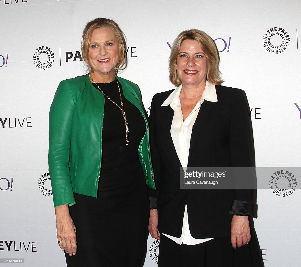 Lori McCreary and Barbara Hall attend The Paley Center For Media Presents An Evening With 'Madame Secretary' at Paley Center For Media on April 27, 2015 in New York City.