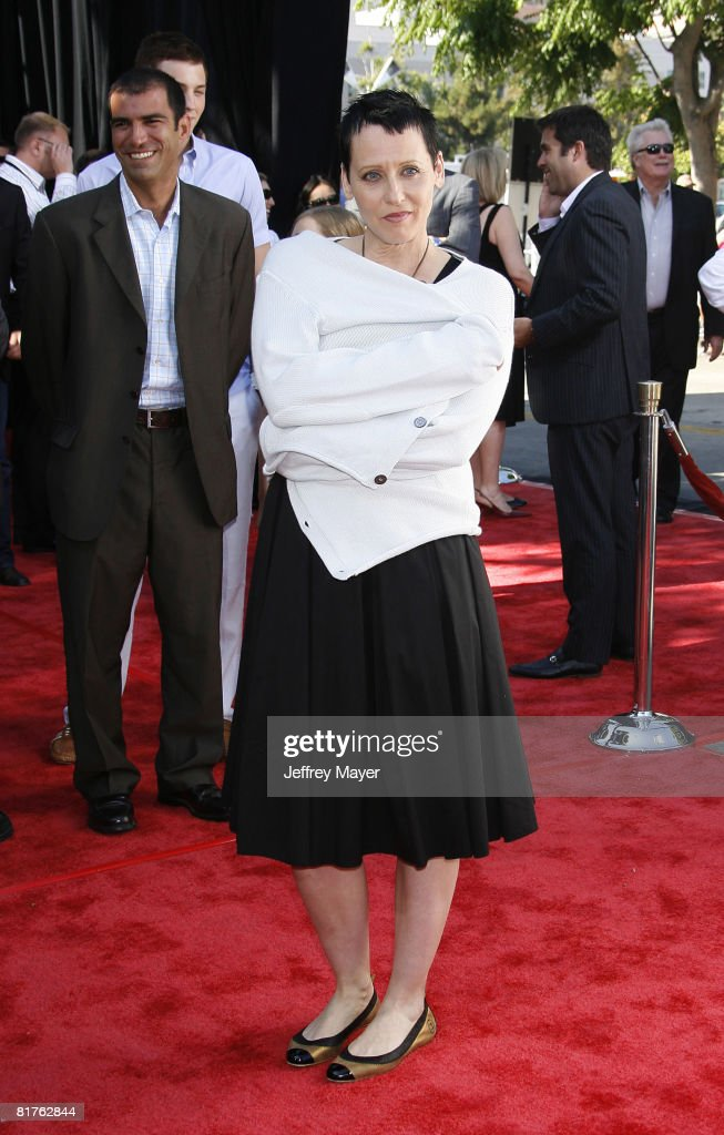 Lori Petty arrives at the 2008 Los Angeles Film Festival's 'HellBoy II The Golden Army' Premiere at the Mann Village Westwood Theater on June 28 2008...