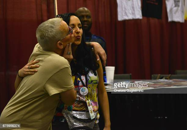 Lori Petty attends the 3rd Annual RuPaul's DragCon day 2 at Los Angeles Convention Center on April 30 2017 in Los Angeles California