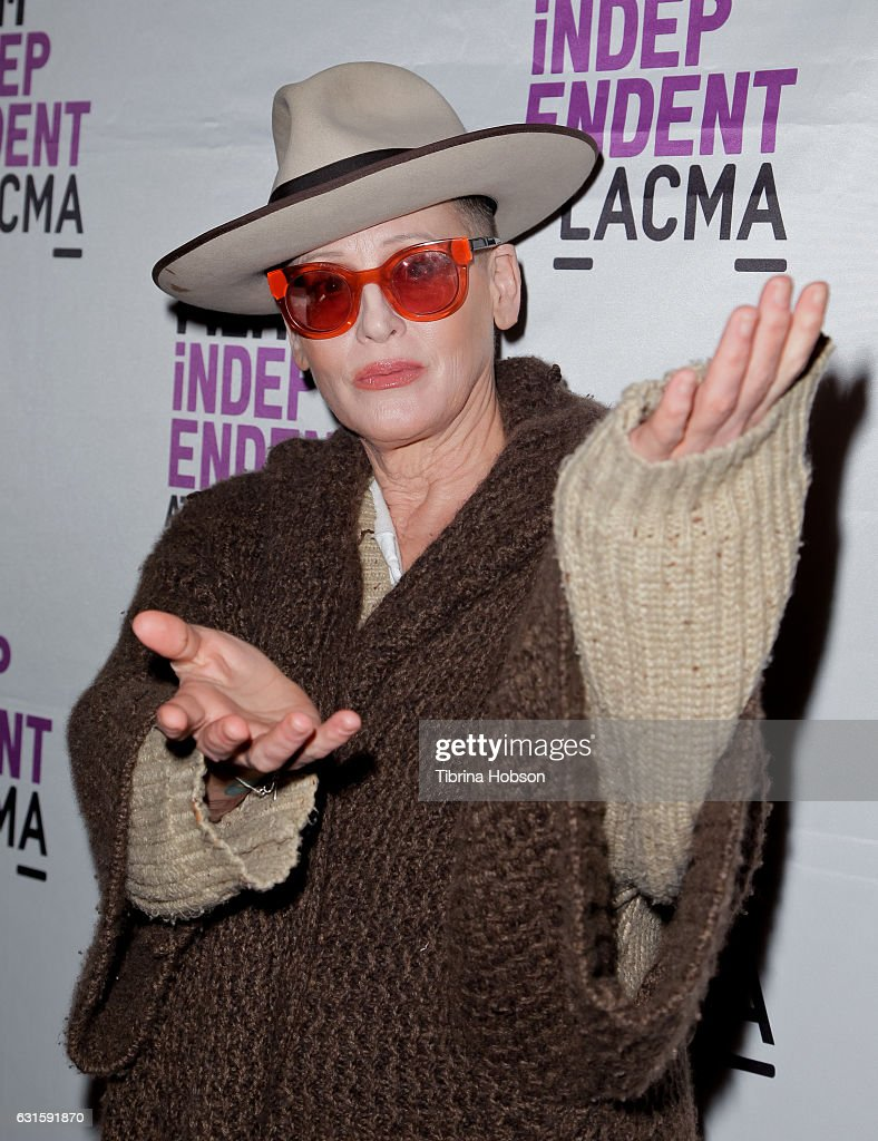 Lori Petty attends the premiere of Magnolia Pictures 'I Am Not Your Negro' at LACMA on January 12, 2017 in Los Angeles, California.