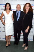 Lori Silverbush Tom Colicchio and Kristi Jacobson attend the Bank of America and Food Wine with The Cinema Society screening of 'A Place at the...