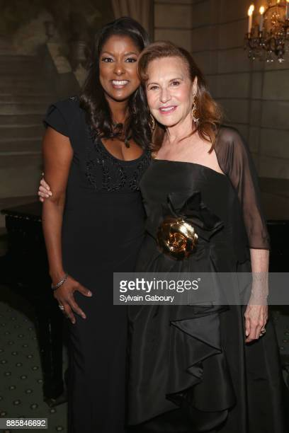 Lori Stokes and Sharyn Mann attend The 20th Anniversary Food Allergy Ball Benefiting Food Allergy Research Education at The Pierre Hotel on December...