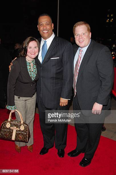 Lori Tierney Greg Fenner and Joe Cappello attend 'Innerstate' red carpet arrivals at Directors Guild of America on February 21 2007 in New York City
