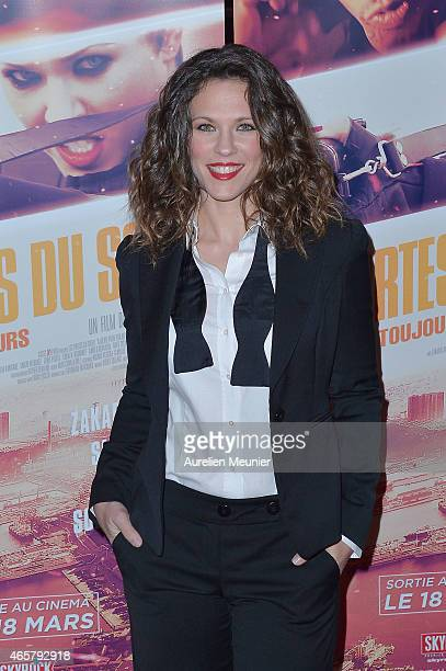 Lorie attends 'Les Portes Du Soleil L'Algerie Pour Toujours' Paris Premiere at Le Grand Rex on March 10 2015 in Paris France