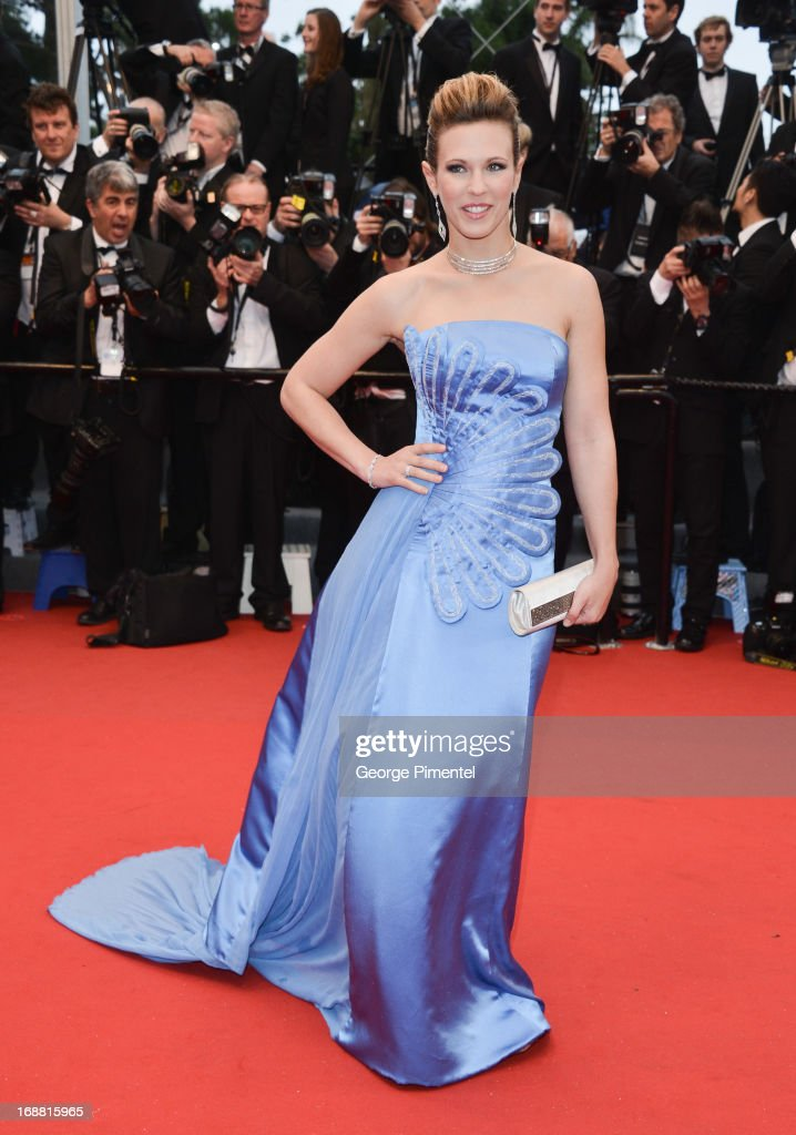 Lorie attends the Opening Ceremony and Premiere of 'The Great Gatsby' at The 66th Annual Cannes Film Festival at Palais des Festivals on May 15, 2013 in Cannes, France.