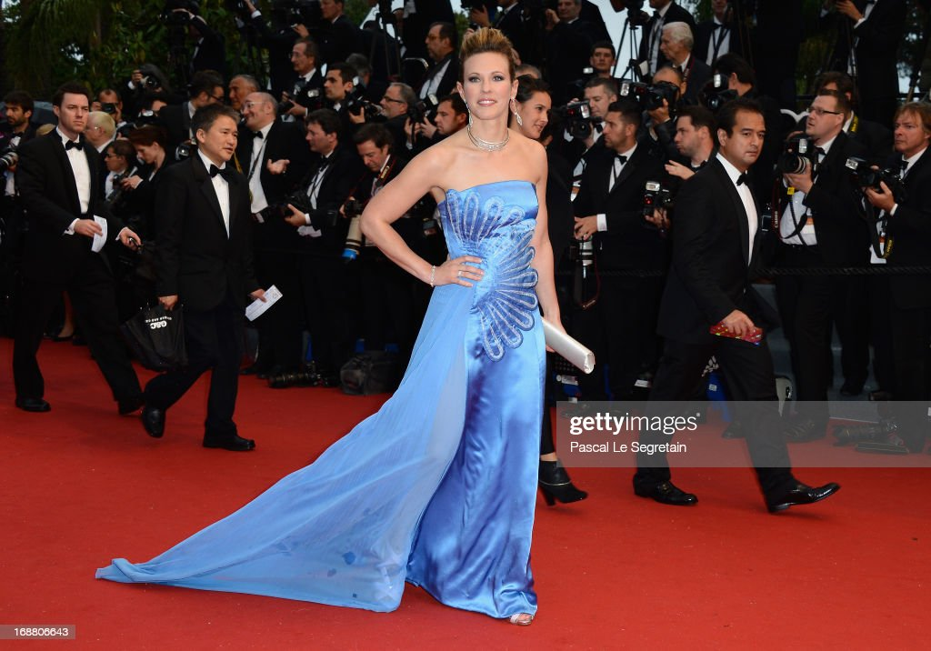 Lorie attends the Opening Ceremony and 'The Great Gatsby' Premiere during the 66th Annual Cannes Film Festival at the Theatre Lumiere on May 15, 2013 in Cannes, France.