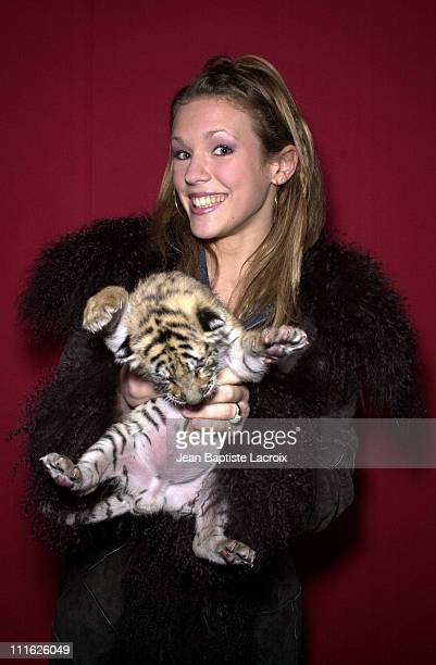 Lorie during Phenix Circus Press Presentation Paris at Phenix Circus in Paris France