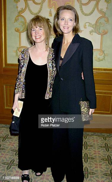 Lorie Hurst and Ellen Wheeler during 57th Annual Writers Guild Awards New York Arrivals at The Pierre Hotel in New York City New York United States
