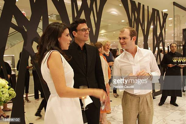 Lorie JonesKen Valencia and Eric Madison attend the Jason Wu Fall 2009 fashion preview at Nordstrom's at NorthPark Center on June 11 2009 in Dallas...