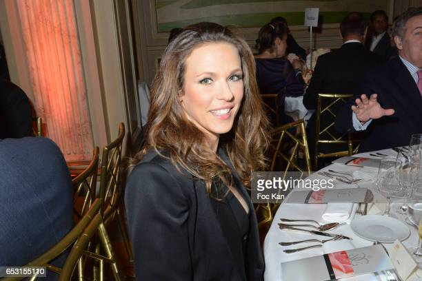 Lorie Pester attends 'La Recherche en Physiologie' Charity Gala at Four Seasons Hotel George V on March 13 2017 in Paris France