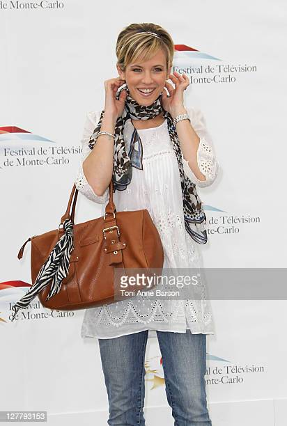 Lorie Pester attends Photocall for 'Un Mari De Trop' during the 51st Monte Carlo TV Festival on June 7 2011 in Monaco Monaco