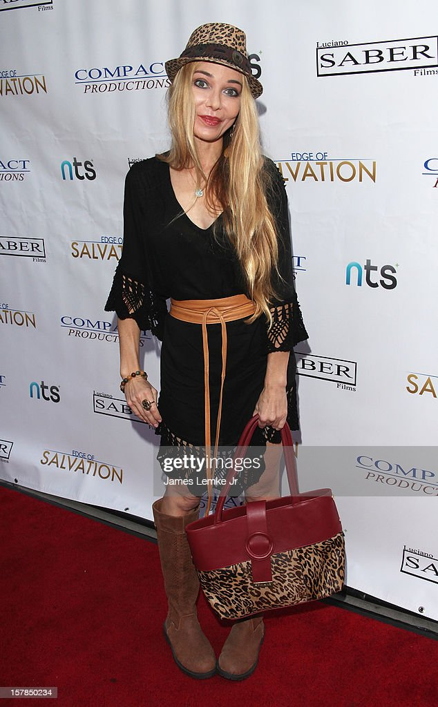 Lorielle New attends the 'Edge Of Salvation' Los Angeles Premiere held at the ArcLight Sherman Oaks on December 6, 2012 in Sherman Oaks, California.
