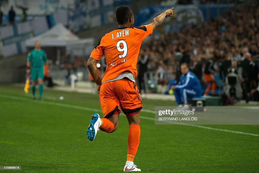 Olympique de marseille v fc lorient ligue 1 getty images for Lorient match