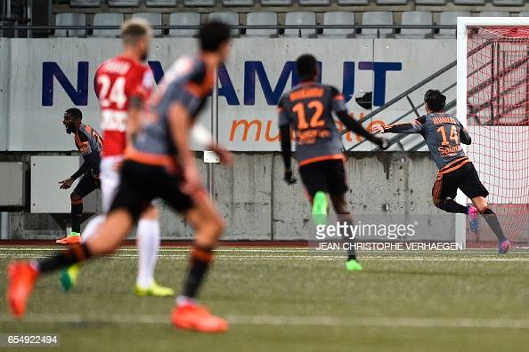 FBL-FRA-LIGUE1-NANCY-LORIENT : News Photo