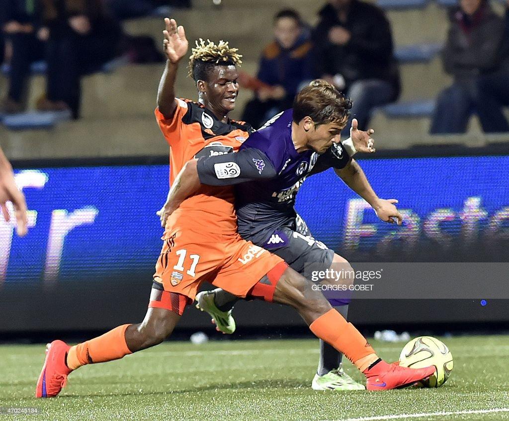 Fc lorient v toulouse ligue 1 getty images for Lorient match