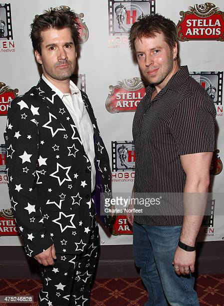 Loring Murtha and Rob Brock attend the 10th Anniversary Hoboken International Film Festival Opening Night Gala at The Paramount Theatre on May 29...