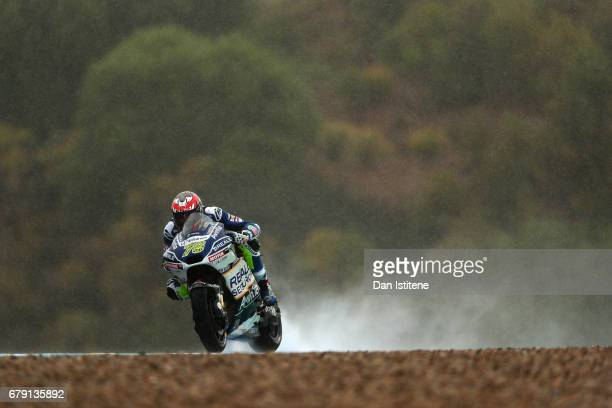 Loris Baz of France and Reale Avintia Racing during free practice for the MotoGP of Spain at Circuito de Jerez on May 5 2017 in Jerez de la Frontera...