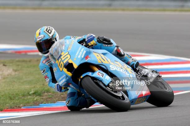 Loris CAPIROSSI Suzuki Essai du Grand Prix de Republique Tcheque 2008 Brno