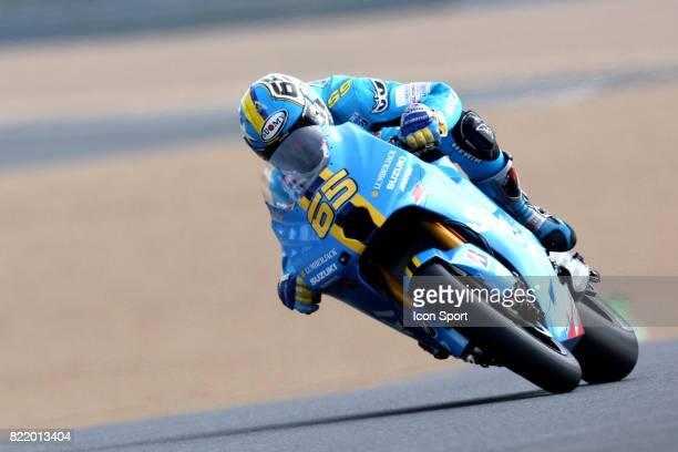 Loris CAPIROSSI Suzuki 160508 Grand Prix de France Moto Essais Le Mans