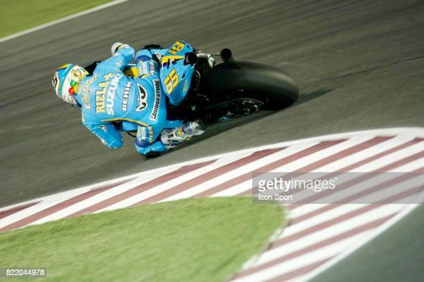 Loris CAPIROSSI Suzuki Essais MotoGP Grand Prix du Qatar 2008 Losail