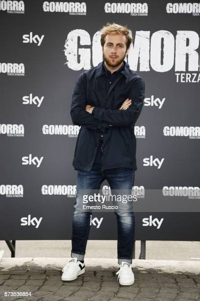 Loris de Luna attend the 'Gomorra' photocall at Ex Dogana on November 13 2017 in Rome Italy