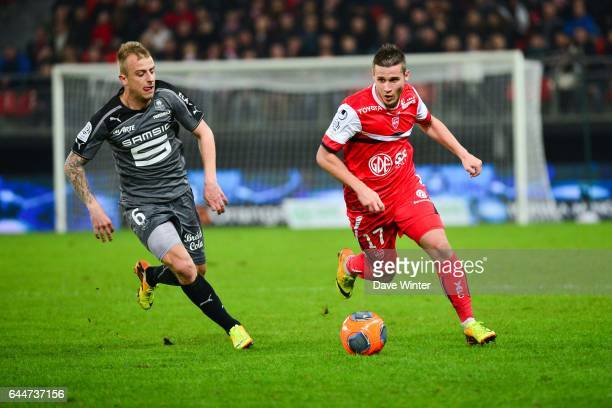Loris NERY / Kamil GROSICKI Valenciennes / Rennes 28e journee Ligue 1 Photo Dave Winter / Icon Sport