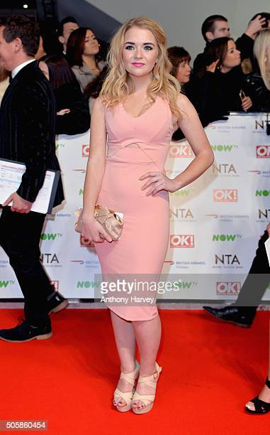 Lorna Fitzgerald attends the 21st National Television Awards at The O2 Arena on January 20 2016 in London England