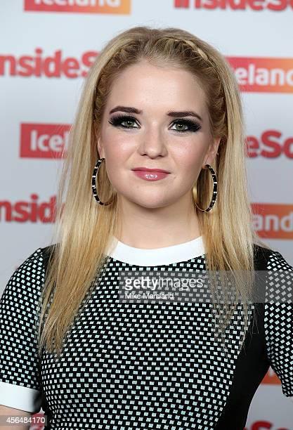 Lorna Fitzgerald attends the Inside Soap Awards at Dstrkt on October 1 2014 in London England