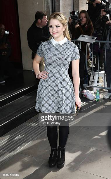 Lorna Fitzgerald attends the TRIC Awards at Grosvenour House Hotel on March 10 2015 in London England