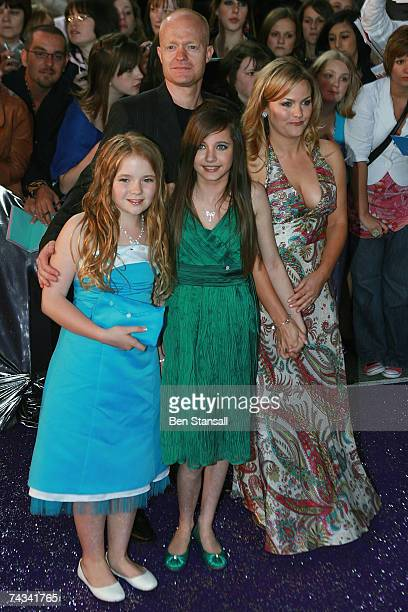 Lorna Fitzgerald Madeline Duggan Jo Joyner and Jake Wood arrive at the British Soap Awards 2007 at the BBC Television Centre on May 26 2007 in London...