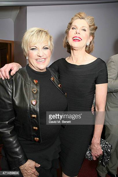 Lorna Luft and Christine Baranski attend the gala performance of 'Follies In Concert' in celebration of Stephen Sondheim's 85th birthday year at...